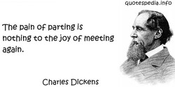 The pain OF parting is 