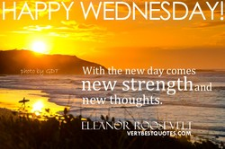 Y WEDNESDAY! 