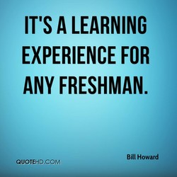 IT'S A LEARNING 