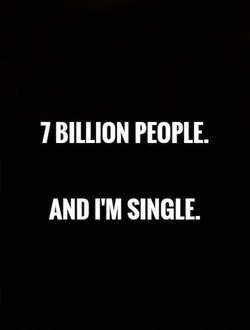 7 BILLION PEOPLE.