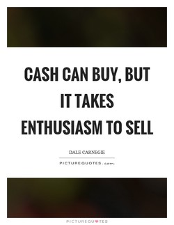 CASH CAN BUY, BUT 