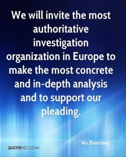 We will invite the most 
