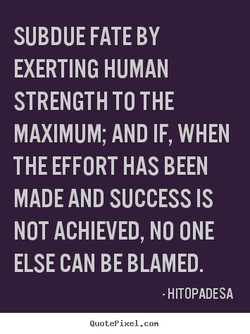 SUBDUE FATE BY 