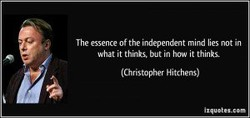 The essence ofthe mind lies not in
