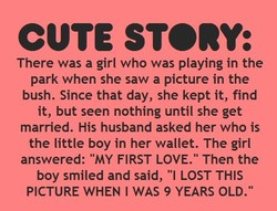 CUTE STORY: 