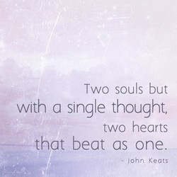 Two souls but 