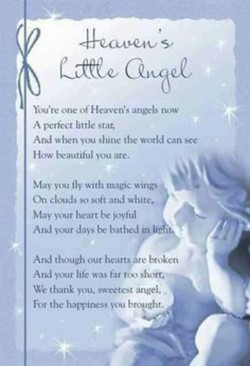 one ot- Heaven's angels now 