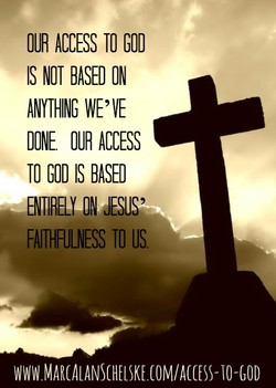 OUR ACCESS TO GOO 