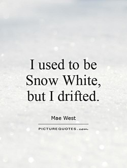 I used to be 