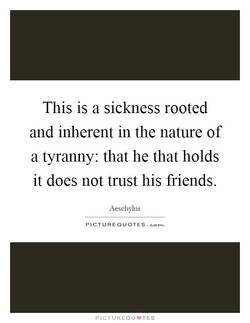 This is a sickness rooted 