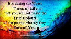 It is duriffg the Worst