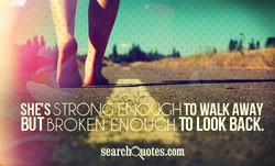 SHE'S STRO 