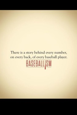 There is a story behind every number, 