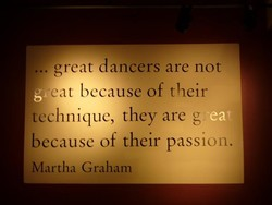 . great dancers are not 