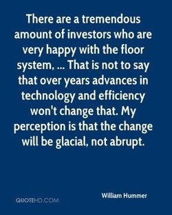 There are a tremendous 