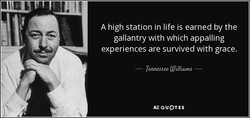 A high station in life is earned by the 