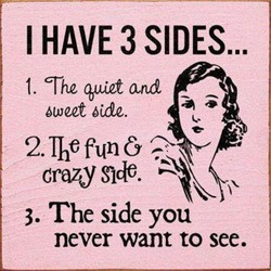 I HAVE 3 SIDES... 
