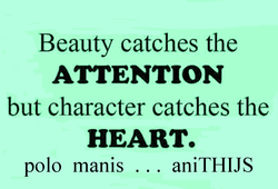 Beauty catches the 