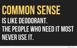 COMMON SENSE 