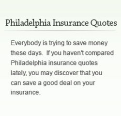 Philadelphia Insurance Quotes 