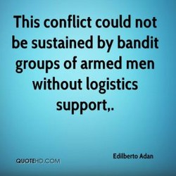 This conflict could not 