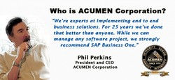 Who is ACUMEN Corporation?