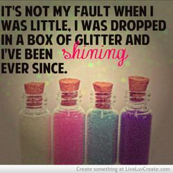 IT'S NOT MY FAULT WHEN I 