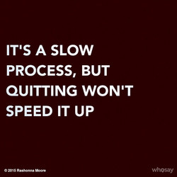 ITIS A SLOW 