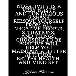 NEGATIVITY IS A 