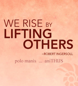 WE RISE BY