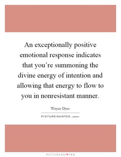 An exceptionally positive 