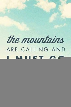 he mountain.ö 
