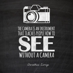 CAMERA IS AN INSTRUMENT 