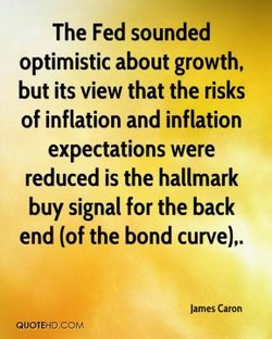 The Fed sounded 