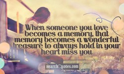 When someone you love 
