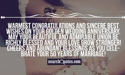 MAY YOUR BEAUTIFUL AND ADMIRABLE UNION BE • 