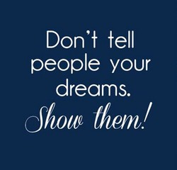 Don't tell 