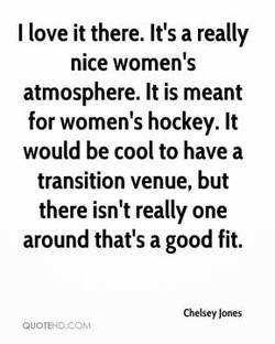 I love it there. It's a really 