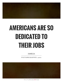 AMERICANS ARE SO 
