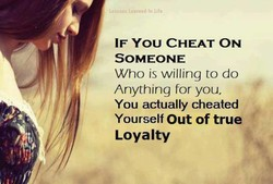 IF You CHEAT ON 