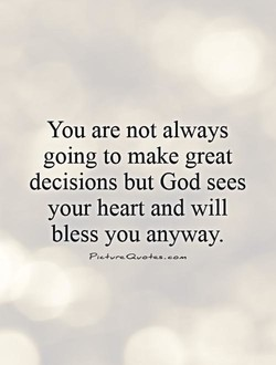 You are not always