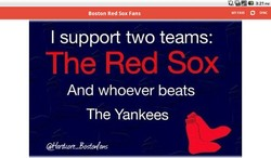 I support two teams: 