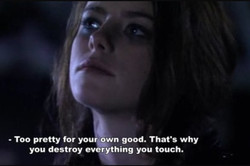 - TOO pretty for youQown good. That's why 
