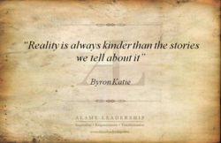 'Reality is always kinder than the stories 