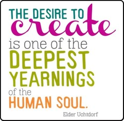 THE DESIRE TO 
