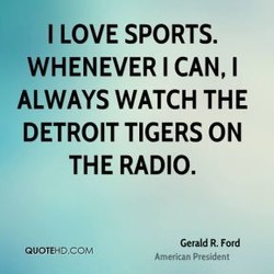 I LOVE SPORTS. 