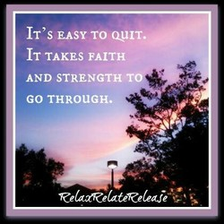 IT's EASY TO QYIT. 