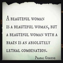 A BEAUTIFUL WOMAN