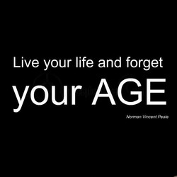 Live your life and forget 