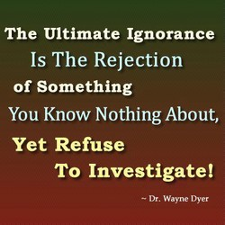 The Ultimate Ignorance 